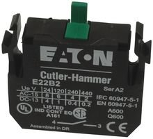 eaton-cutler-hammer-e22b2-contact-block-1no-10a-screw-by-eaton-cutler-hammer