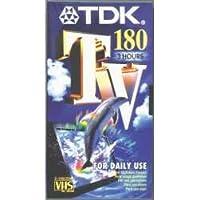 TDK E-180TV 180min 1pieza(s) cinta de sonido y vídeo - Cinta de audio/video (180 min, 1 pieza(s))
