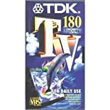 TDK E 180 TV  Blank Tapes