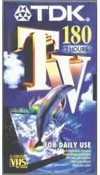 Tdk E 180 Tv Vhs Normal Elektronik
