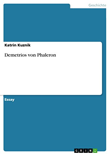 Demetrios von Phaleron (German Edition)