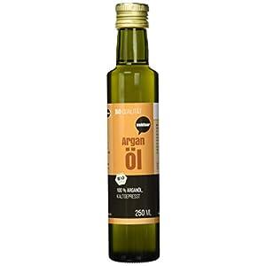 Wohltuer Bio Arganöl 250ml – Nativ gepresst und 100% rein – Natur pur (250ml) | Hautpflegeöl | Haaröl | 100% Naturkosmetik