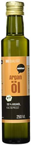 Wohltuer Bio Arganöl 250ml - Nativ gepresst und 100% rein - Natur pur (250ml) | Hautpflegeöl |...