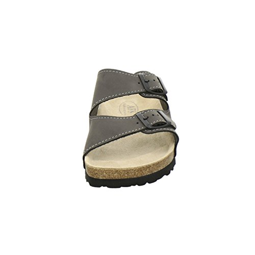 Afs Shoes 3110 Pantofole Da Uomo In Pelle, Pantofole Con Plantari In Sughero, Pantofole Da Uomo In Pietra Classica