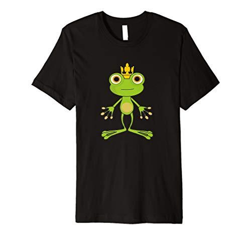 Froschkönig Hemd Süßes grünes Froschdesign