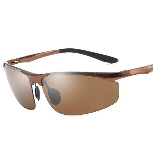 LXC Men ' S Sonnenbrillen, Men ' S polarisierte Sonnenbrillen, Neue Trends, Men ' S Fashion, Sonnenbrillen, Aluminium Magnesium, Fahren, Driving Gläser,c