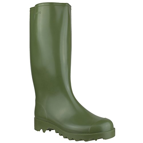 Nora Dolomit Mens Wellington Boots (42 EUR) (Olive Green)