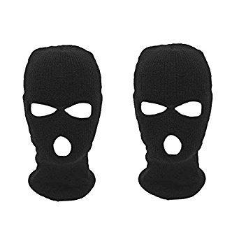 Ardisle 2 paquete 3 agujeros pasamontañas máscara