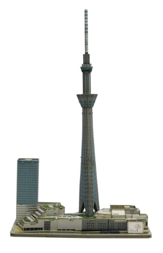 Assemble! Tokyo Skytree Town (Paper Craft Model) (Skytree Tokyo)