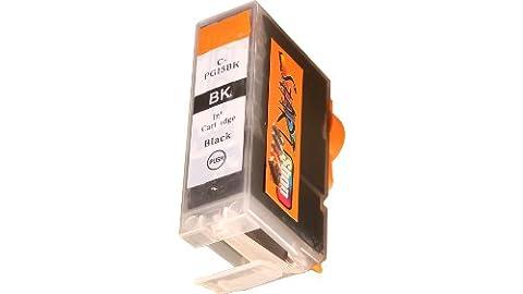 Start - Compatible Chip Cartridge equivalent to PGI-5BK, Black for