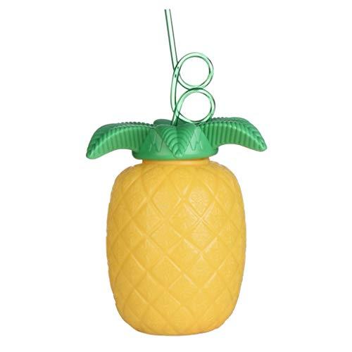 s Becher Trinkbecher Cocktailbecher Partybecher für Bar und Hause, aus Plastik - Gelb ()