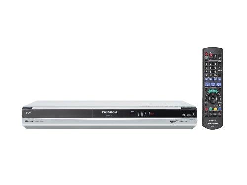 Panasonic DMR-EX83EG-S DVD-Rekorder mit 250 GB Festplatte (HDMI, DivX-zertifiziert, USB 2.0) mit integriertem DVB-T & analog Kombi Tuner silber - Dvd-vhs-player Panasonic