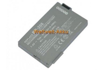 7,40V 860mAh batería de repuesto para videocámara Canon DC10, DC19, DC20, DC21, DC22, DC40, DC50, DC51, DC95, DC100, DC201, DC210, DC211, DC220, DC230, MVX430, MVX450, MVX460,, MVX1Si, compatible con baterías de tipo de BP 208, BP 208DG