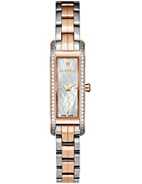 Roamer Women's AEU831 4925 PE Quartz Watch with Mother Of Pearl Dial Analogue Display and Stainless Steel Bracelet
