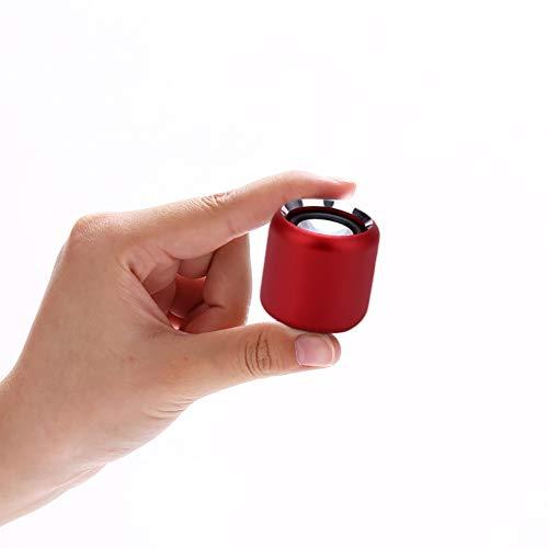 XCCV Kabelloser Mini-Bluetooth-Lautsprecher mit individuellem Bass-Kühler Klein, Aber laut, die nächste Generation tragbarer Lautsprecher für Auto, Fahrrad, Zuhause und im Freien (Mit Lautsprecher Kühler)