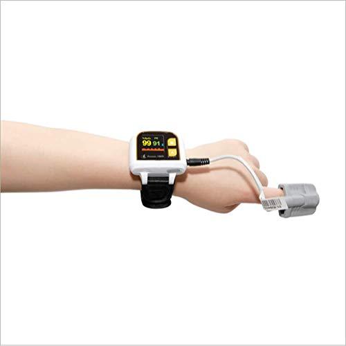 Pulsoximeter am Handgelenk zur Erkennung der Herzfrequenz, Überwachung der Atmungsruhe, drahtloses Bluetooth, Alarmfunktion, für Personen, die eine Sauerstofftherapie für ältere Menschen benötigen