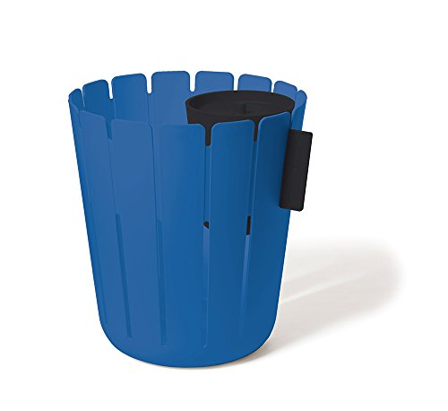 Konstantin Slawinski BASKETBIN blau schwarz Papierkorb