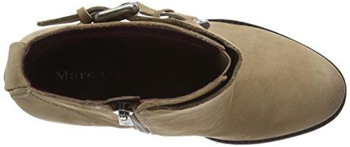Marc O'Polo 50713016201202 High Heel Bootie Damen Kurzschaft Stiefel Grau (717 taupe)