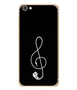 99Sublimation Designer Back Case Cover for Vivo X7 Plus (music phone loud wire technology electric )