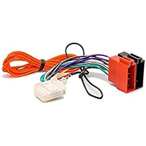 Autostereo Installtion-Cavo autoradio ISO per stereo audio 12-136 Radio Cavo adattatore cablaggio autoradio ISO per NISSAN 2006 SUBARU 2007 OPEL - Nissan Radio Cablaggio