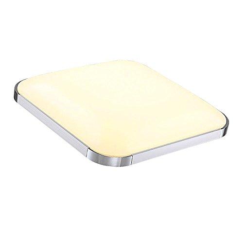 VINGO® 24W LED Deckenleuchte Warmweiß 2700-3200K Deckenbeleuchtung Markantes Design