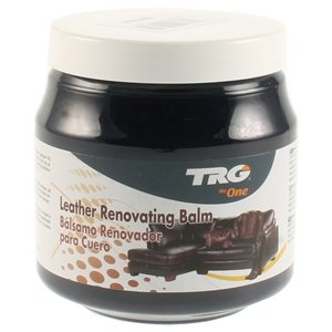 Preisvergleich Produktbild TRG Leather Renovating Balm - Suitable for Leather Car Interior, Leather Furniture, Jackets and bags 300ml (Various Colours Available) (Navy Blue)