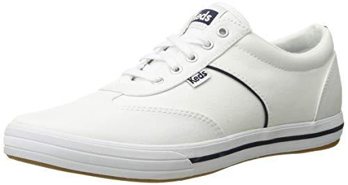 Keds Frauen Flache Sandalen Weiss Groesse 9 US /40 EU Keds Slip On Sneakers
