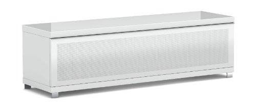 Elmob Large Lr160-02 1600mm Wide Tv Cabinet Av Unit - White