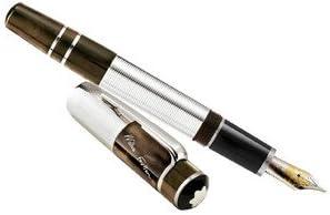 Con, juego de bolígrafos Montblanc diseño de fuente de luces de punta fina para punta Faulkner