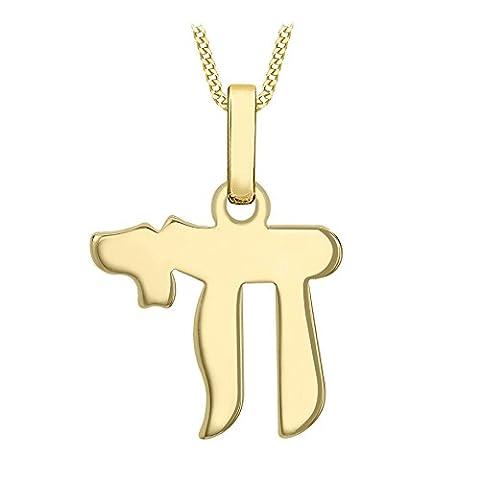 Carissma Gold - Collier avec pendentif - Or jaune 9
