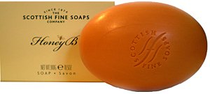 Scottish Fine Soaps Honey B Single Soap Bar 10.5 Oz. From Scotland by Scottish Fine Soaps