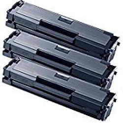 MLT-D111S 3 Toner kompatibel für Samsung Xpress M2022 Xpress M2022 M2026 M2022W M2070 M2020 M2070F M2070FW M2070W Chip mit aktueller Firmware