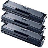 3 TONER COMPATIBILE PER SAMSUNG MLT-D111S Xpress M2022 / Xpress M2022W / Xpress M2070 / Xpress M2070W / Xpress M2070F / Xpress M2070FW / Xpress M2026 / Xpress M2026W / Xpress M2020 / Xpress M2020W