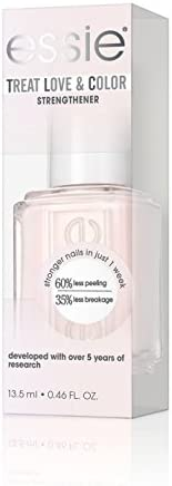essie Treat Love & Color, Breathable Nail Polish, Sheers To You, Sheer, 13.5 ml