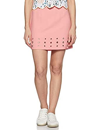 FabAlley Synthetic a-line Skirt