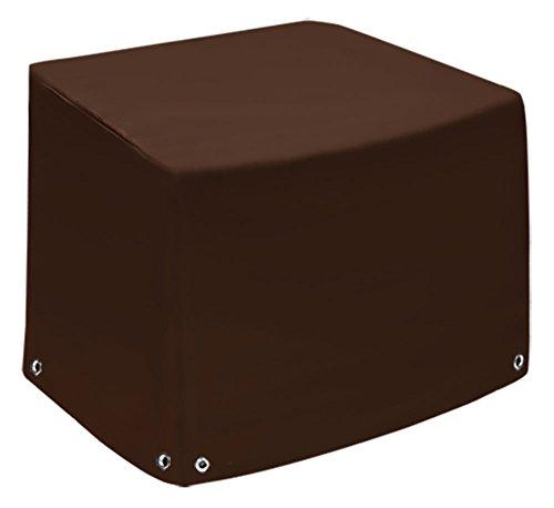 Fauteuil lounge, capot de protection, téléphones portables | Bâche | Cloche | Couverture | en bâche de camion (650gr/M²) | | hochfertige en tissu de polyester enduit en PVC et longue durée Capot de protection contre les intempéries | 100x100x70 chocolat
