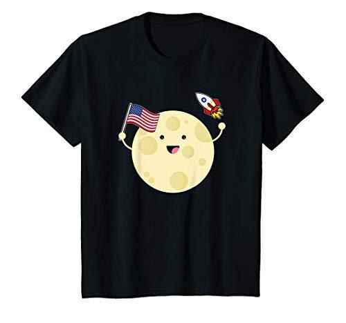 Vollmond-kinder T-shirt (Kinder Vollmond 50 Jahre Mondlandung T-Shirt)