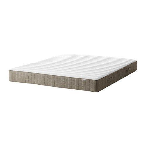 IKEA HAMARVIK - colchón de muelles, firmes, de color beige oscuro - 4'6