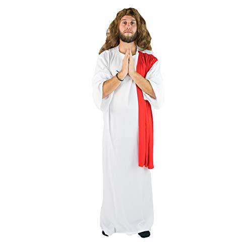 Bodysocks fancy dress smiffy's - costume da gesù cristo il salvavita, uomo, taglia: l