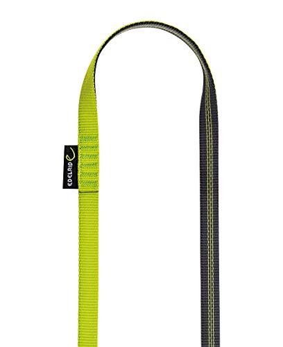 Edelrid Unisex- Erwachsene Schlinge Tubular Sling 16mm VPE10, Slate-Oasis (627), 60 cm
