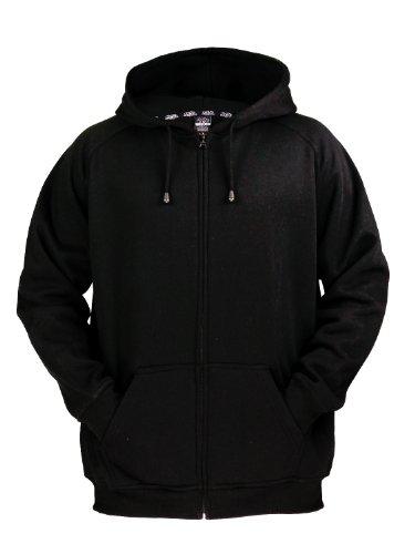 urban classics zip hoodie Black