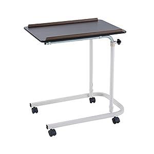 ZXWDIAN Tavolo da Gioco Tavolo da Pranzo Pigro Tavolo da Pavimento Piano rialzato da Comodino Tavolo per Anziani Tavolo da Pranzo Mobile Tavolo della Colazione (Colore : Colore del Legno)
