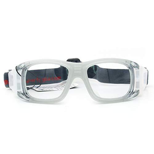 Basketball Brillengestell Sportbrillen Explosionsgeschütztes Angeln Myopia Grey -