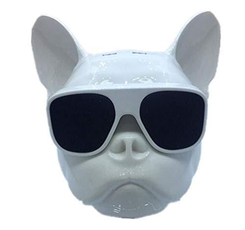 Bluetooth Altavoz Bulldog Forma Mascota inalámbrico Toque HiFi subwoofer 1 1 Serie...