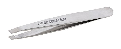Classic Slant Pinzette (TWEEZERMAN Studio Collection Mini Slant Tweezer kleine Pinzette,1er Pack (1 x 1 Stück))