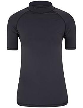 Mountain Warehouse Camiseta térmica de manga corta con protección solar UV para mujer - Camiseta térmica con protección...