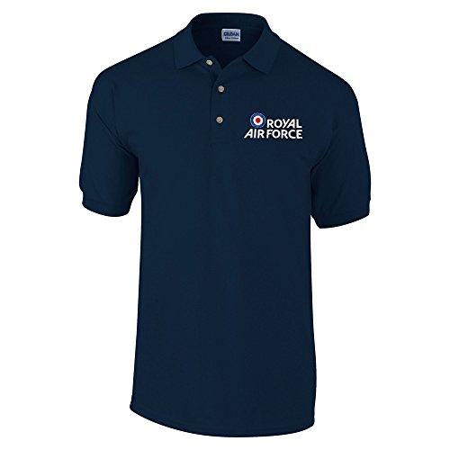 Royal Air Force Camiseta en Azul Marino Diseño Red Arrows Uso Unisex 1sBz0