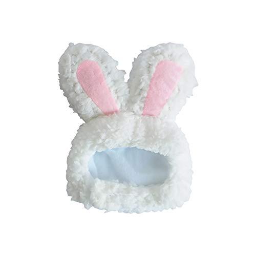 Monland Haustier Katze Kaninchen Kopf Bedeckung Hund Niedlichen Kaninchen Ohren Hut Foto Niedlichen Kleid Cosplay Zubeh?r Kleine Wei?e Kaninchen Hut (Caps Zum Verkauf Kostüm)