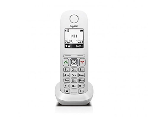 Gigaset A540 CAT Telefon, Schnurlostelefon / Mobilteil, Grafikdisplay, Dect-Telefon, Router, CAT-iq, Freisprechen, VoiP Telefon, weiß