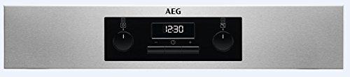 AEG BEB331010M Einbauherd/Backofen / Energieeffizenzklasse A / 71 Liter Volumen / Edelstahl / SurroundCook Multifunktionsbackofen/ MaxiKlasse mit extra großem Garraum